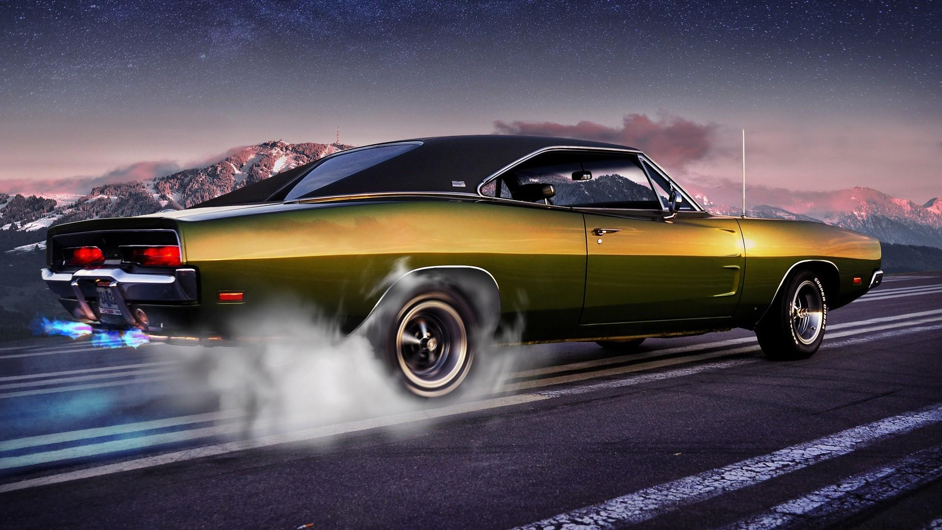 Classic-Muscle-Car-Wallpaper-iBackgroundWallpaper