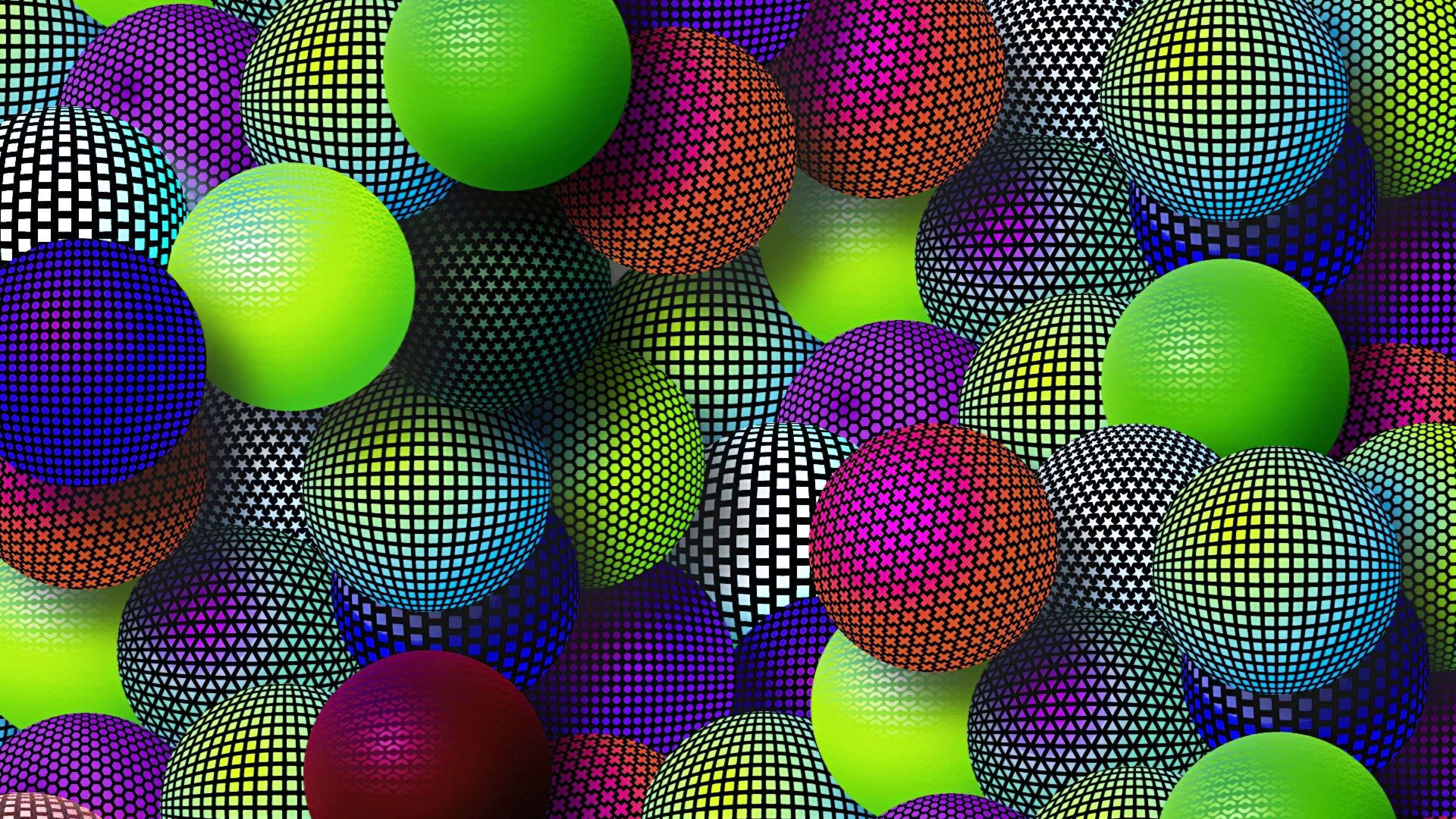 Download-Wallpaper-3840x2160-Balloons-Colorful-Mesh-Set-Variety-4K-...